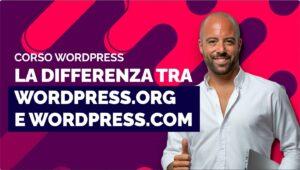La differenza tra WordPress.org e WordPress.com