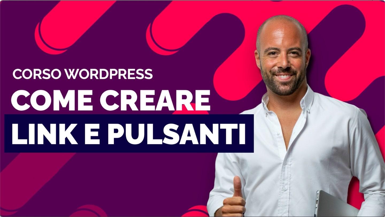 Come creare link e pulsanti in WordPress