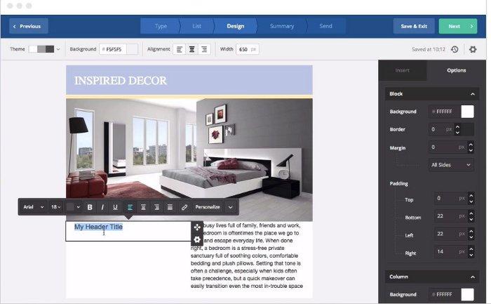 ActiveCampaign - strumento per mandare newsletter personalizzate