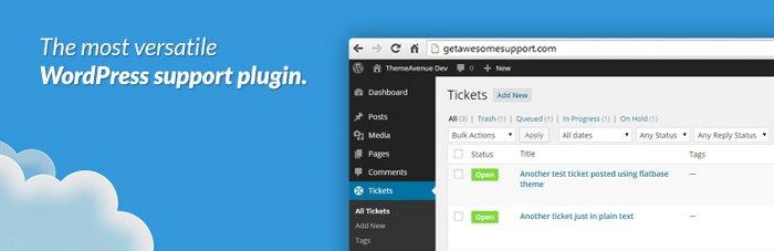 Awesom Support per gestire i ticket su WordPress
