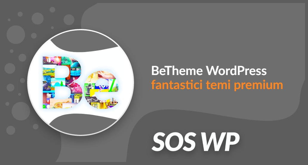 BeTheme WordPress fantastici temi premium