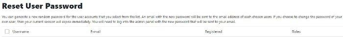 Sucuri - cambio password