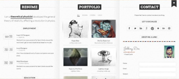 BookCard WP WordPress VCard