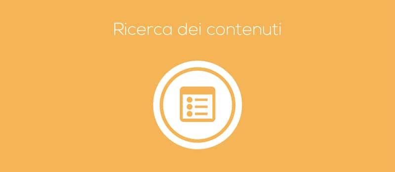 ricerca dei migliori contenuti per aumentare tempo di permanenza utenti su sito web