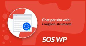 Chat per sito web migliori strumenti