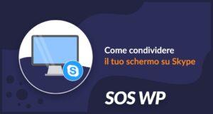 Come condividere il tuo schermo su Skype