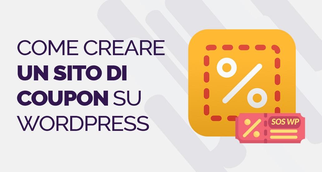 Come creare un sito coupon con WordPress