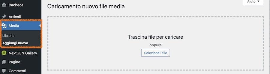Come gestire e rendere scaricabili file media su WordPress