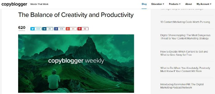 Come gestire un blog WordPress - CopyBlogger