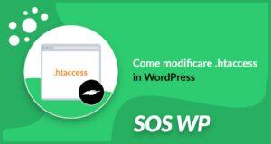 htaccess WordPress: come modificare il file htaccess