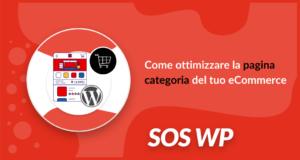 Come ottimizzare la pagina categoria del tuo eCommerce