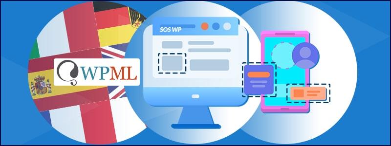 Come tradurre widget, temi e plugin con WPML