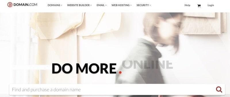 Comprare un dominio su Domain