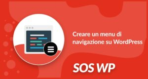 Creare un menu di navigazione su WordPress