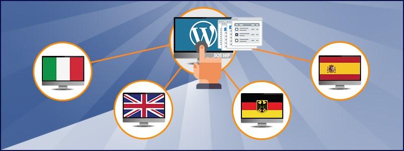 Creare un sito multilingua utilizzando la funzionalità WordPress Multisite