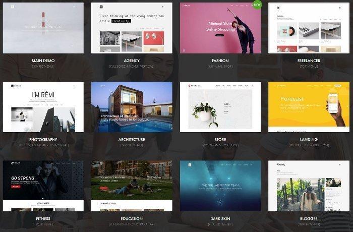 Temi per siti portfolio - Kalium