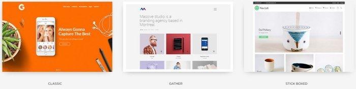 Tema per sito portfolio - Massive Dynamic