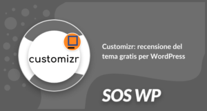 Customizr recensione del tema gratis per WordPress
