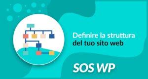 Definire la struttura del tuo sito web