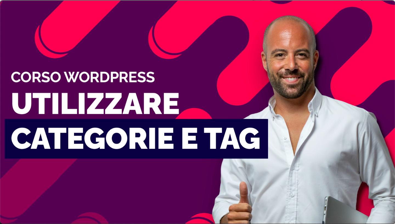 La differenza tra categorie e tag in WordPress