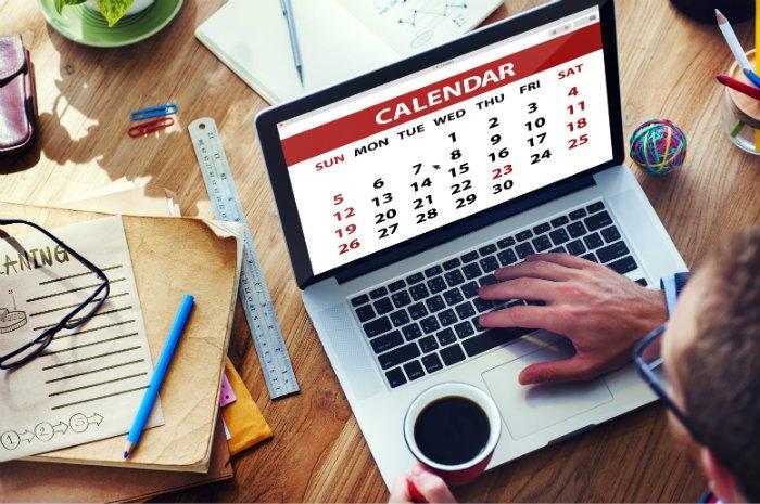 Calendario editoriale blogger
