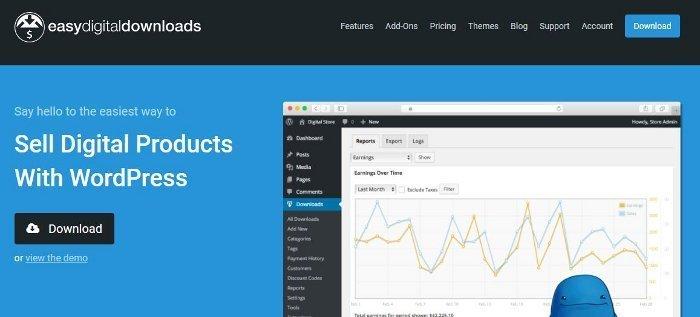 Easy Digital Downloads per vendere videocorsi con WordPress