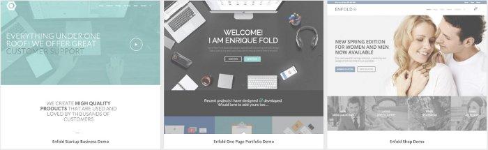 Installare demo dei siti con tema Enfold