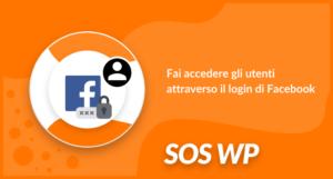 Fai accedere gli utenti attraverso il login di Facebook