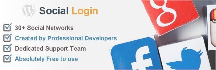 Social login - plugin