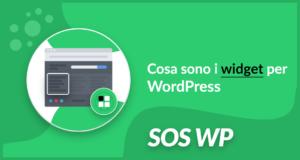 Cosa sono i widget per WordPress