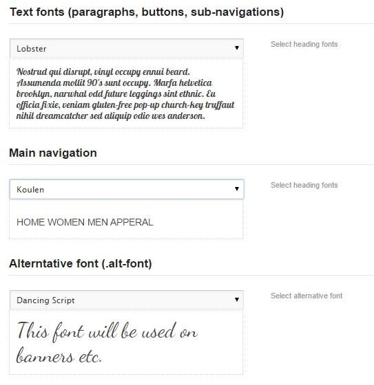 Flatsome Fonts