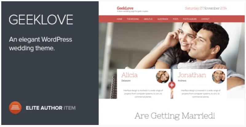 GeekLove tema WordPress