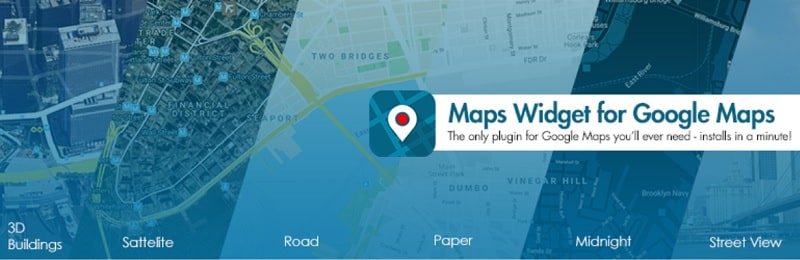 Google Maps Widget-Immagine