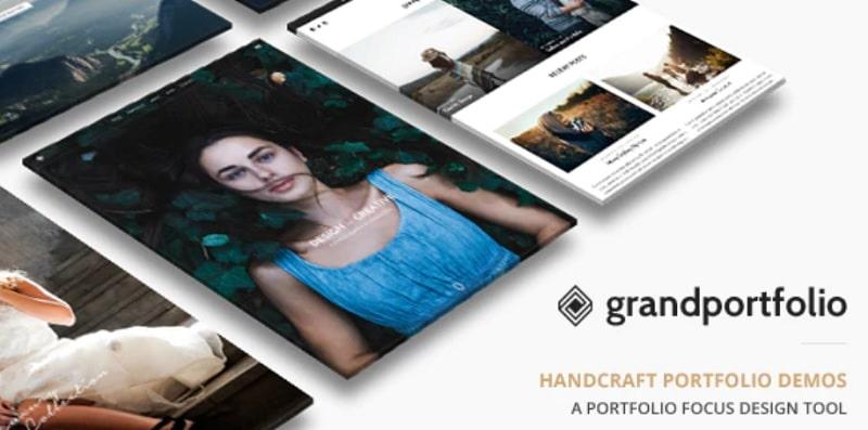 Temi portfolio GrandPortfolio WordPress