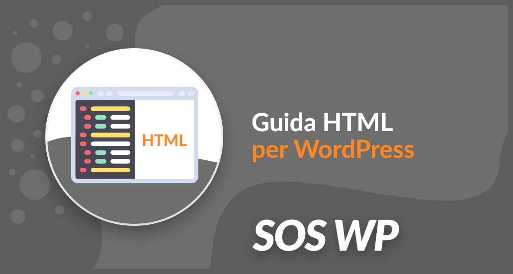 Guida HTML per WordPress