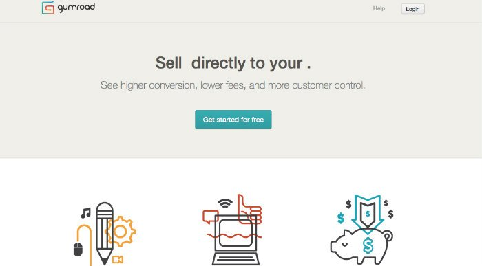 Come usare Gumroad per vendita file digitali