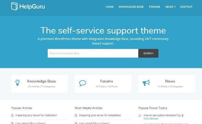 Temi per vendere servizi - HelpGuru