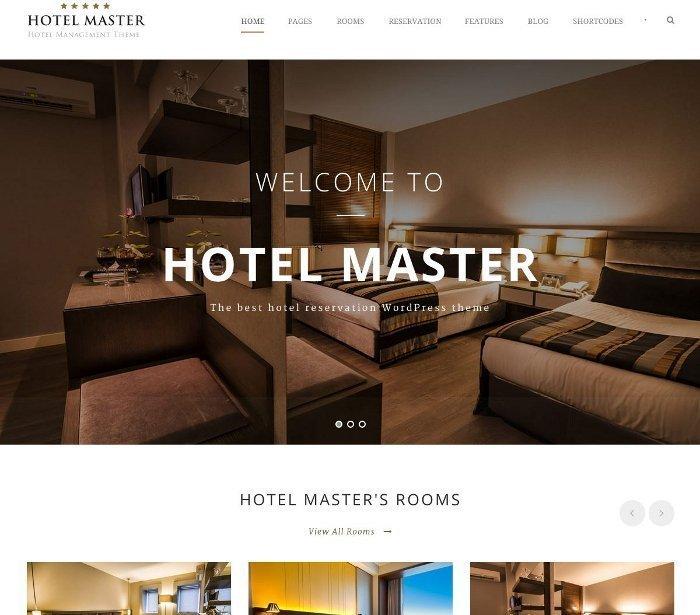 Temi per vendere servizi - Hotel Master