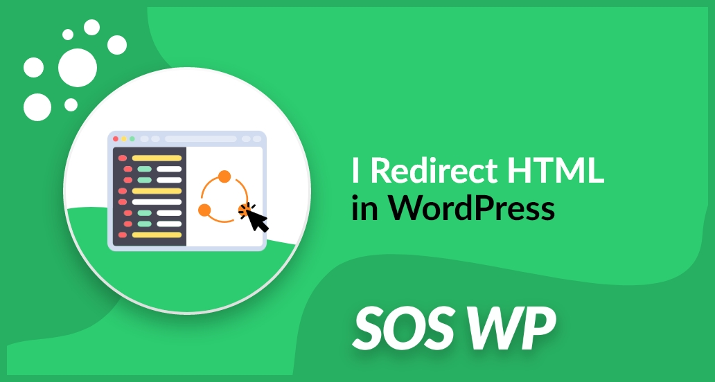 I Redirect HTML in WordPress