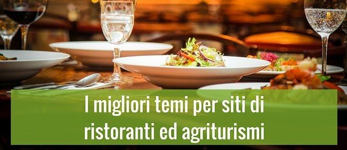 I migliori temi per siti di ristoranti ed agriturismi