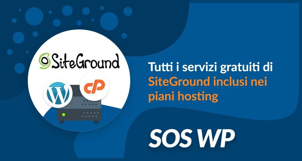 Servizi Gratuiti di SiteGround