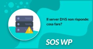 Il server DNS non risponde cosa fare