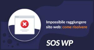 Impossibile raggiungere sito web come risolvere