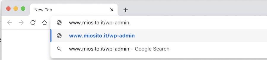 Installazione WordPress come accedere al sito dopo la configurazione