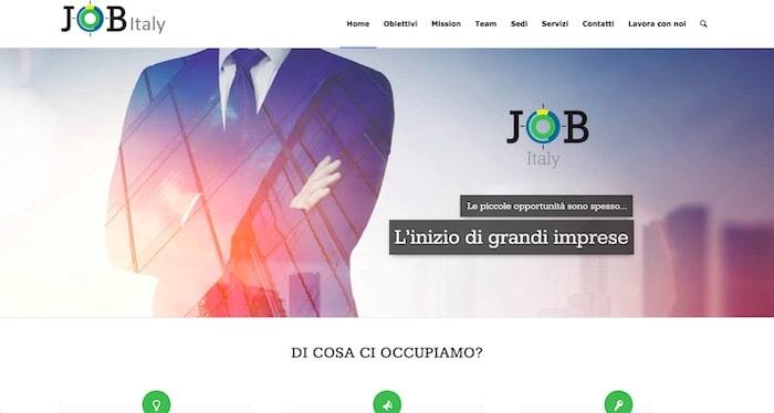 Jobitaly.net - Creazione sito aziendale di SOS WP™