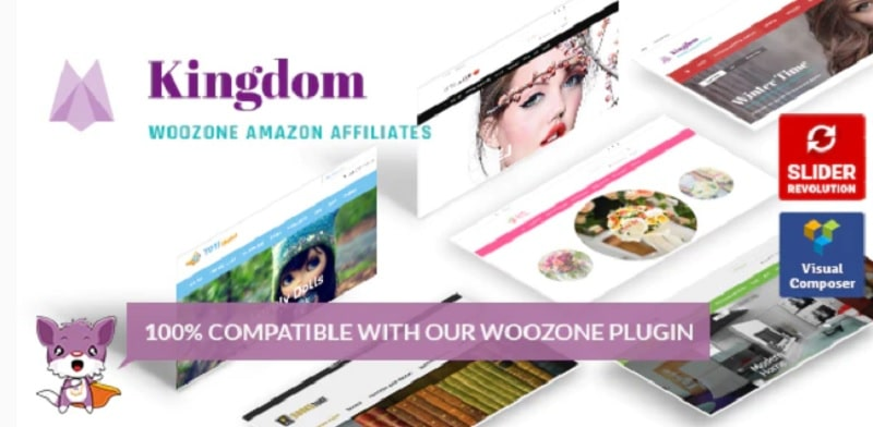 Kigdom - tema per siti WordPress che guadagnano con le affiliazioni
