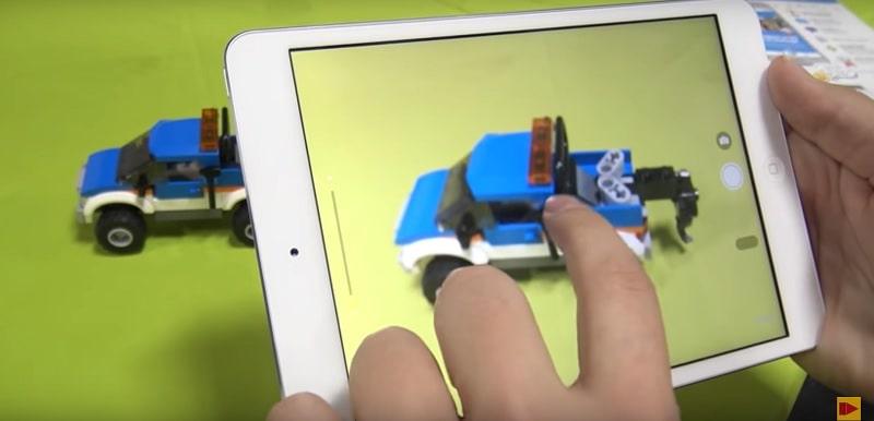 Lego - uso storia per promuovere app