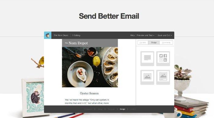 Mail Chimp per promozione articolo tramite newsletter