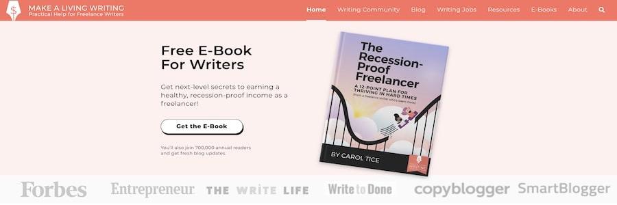 Make a Living Writing di Carol Tice