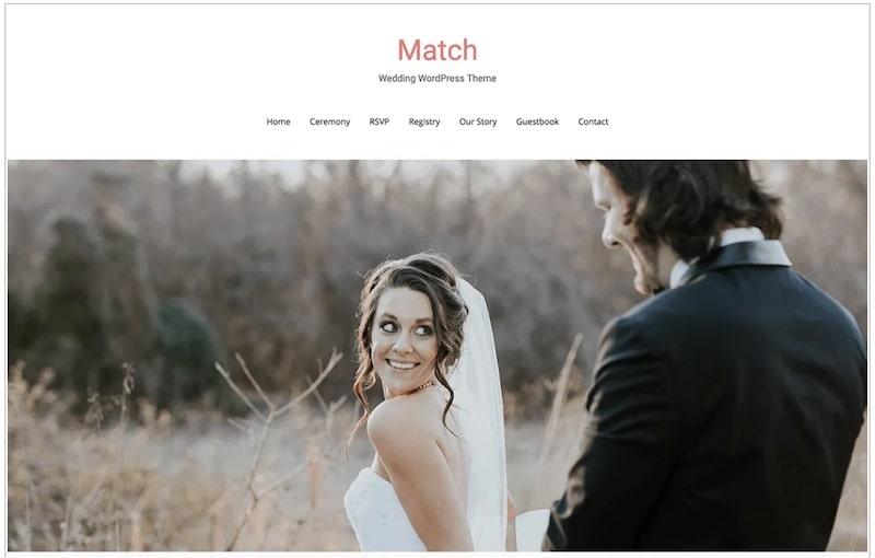 Match tema per WordPress